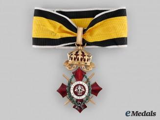Bulgaria, Kingdom. An Order of Military Merit, III Class Commander with Swords & War Decoration, c.1917