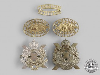 Canada. Five Canadian Scottish Regiment (Princess Mary's) Badges