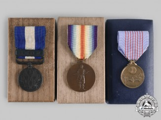 Japan, Empire. A Lot of Three Cased Medals