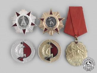 Albania, People's Republic. Five Orders
