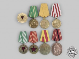 Albania, People's Republic. Eight Awards & Medals