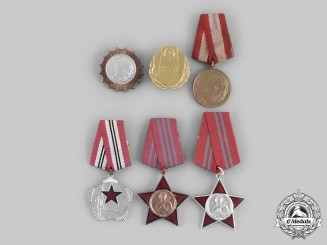 Albania, People's Republic. Six Awards & Decorations