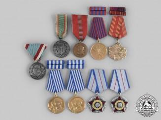 Hungary, Romania, Yugoslavia. A Lot of Nine Eastern European Awards