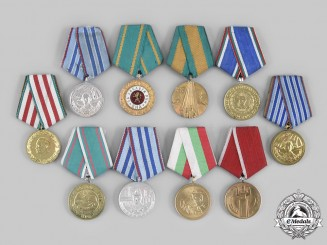Bulgaria, People's Republic. Ten Medals