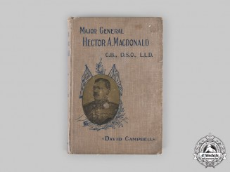 United Kingdom. Major General Hector A. MacDonald, by David Campbell