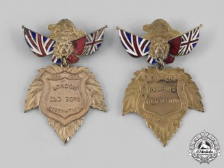 Canada, Dominion. Two Western Ontario-Based Old Boys Association Medals