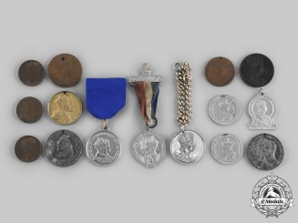 Canada, United Kingdom. A Lot of Fifteen Royal Commemorative Medals