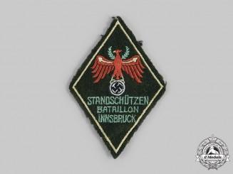 Germany, Third Reich. An Innsbruck Standschützen Battalion Sleeve Insignia