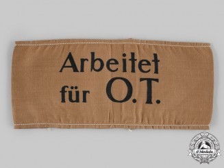 Germany, OT. An Organisation Todt Worker's Armband