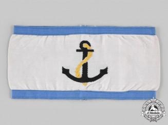 Germany, Kriegsmarine. An Air Protection Leader's Armband
