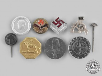 Germany, Third Reich. A Lot of Badges and Stick Pins