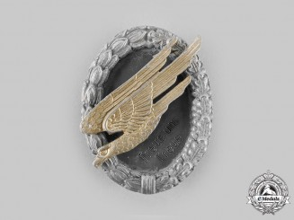 Germany, Federal Republic. A Postwar Veteran's Fallschirmjäger Badge