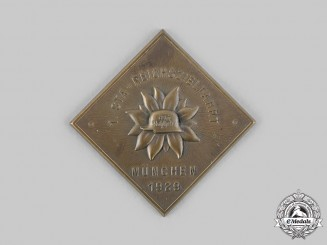 Germany, Der Stahlhelm. A 1929 Stahlhelm Munich Commemorative Plaque