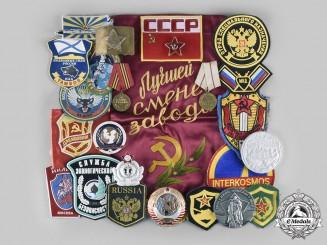 Russia, Soviet Union, Federation. Lot of 105 Items