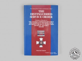 Canada. The Distinguished Service Order, by Riddle and Mitchell