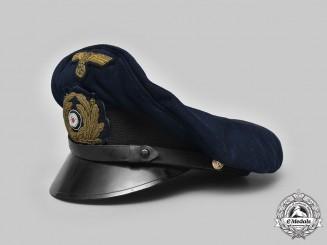Germany, Kriegsmarine. A Senior NCO's Visor Cap, by Fritz Weidmann