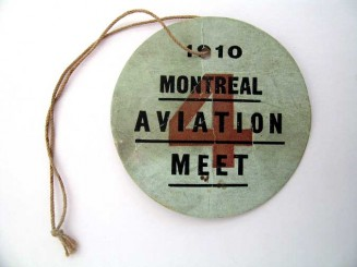 MONTREAL  AVIATION  MEET  BADGE