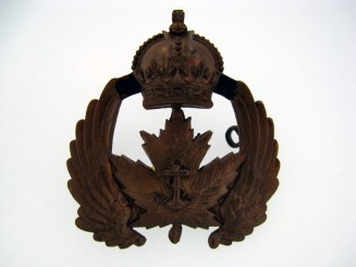Canadian Naval Air Service Cap Badge