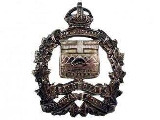 Alberta Provincial Police Cap Badge