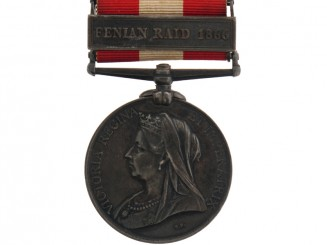 Canada General Service Medal 1866