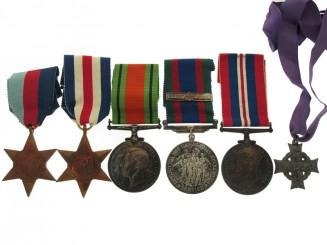 WWII Memorial Cross Group of Six,