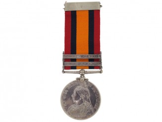 Queen's South Africa Medal- Cdn Mounted Rifles