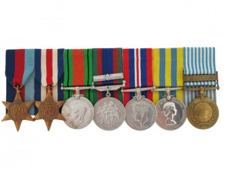 The WWII & Korea Awards to G.Gower, Cdn Inf.