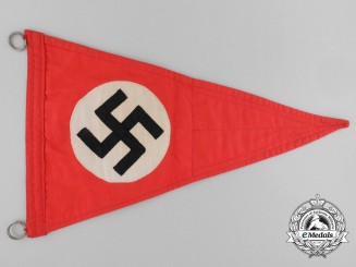 An NSDAP Vehicle Pennant
