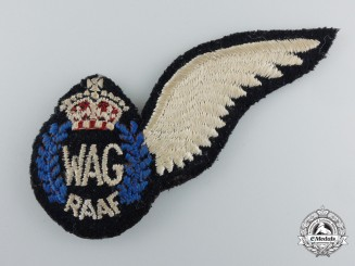 A Second War Royal Australian Air Force (RAAF) Wireless/Air Gunner (WAG) Wing