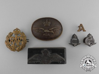 United Kingdom. A Lot of Six Royal Air Force (RAF) Items