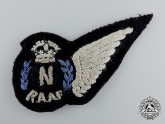 A Second War Royal Australian Air Force (RAAF) Navigator (N) Wing