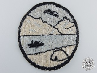 A Second War Period Canadian Operation Muskox Sleeve Patch