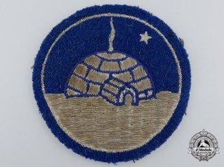 A Second War Period Canadian Operation Eskimo Sleeve Patch