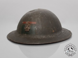 A First War 4th Canadian Division Headquarters 11th Infantry Brigade Colonel's Helmet