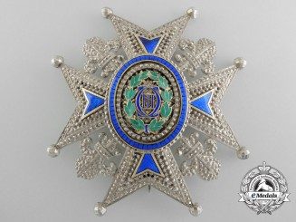 A Spanish Order of Charles III; Commanders Star