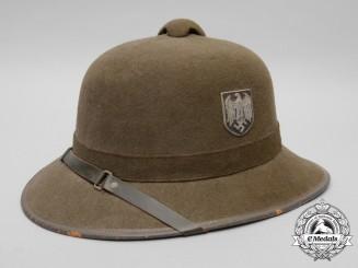 A 1942 Wehrmacht Afrika Korps Pith Helmet