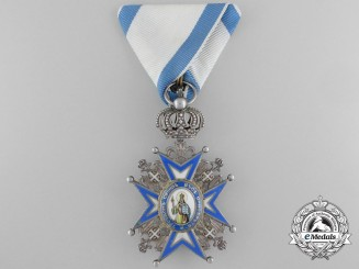 A Serbian Order of St. Sava; Knight, 2nd Model (1921-1941)