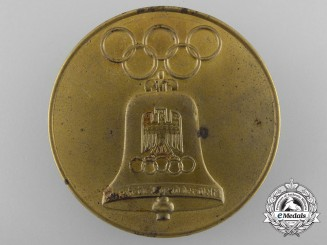 A 1936 XI Summer Olympic Games Berlin Commemorative Tin