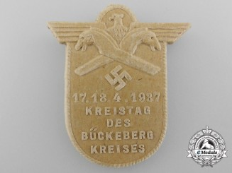 Germany. A Bückeberg District Diet Badge, c.1937