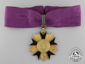 A National Order of Dahomey; Third Class Commander