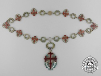A Portuguese Order of Saint James of the Sword Collar by Frederico Da Costa, Lisbon