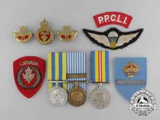 A Korean War Group to Battle of Kap'yong Veteran; Corporal Frances Hardy 2nd PPCLI