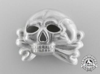 An Early SS Skull Insignia; Danziger skull