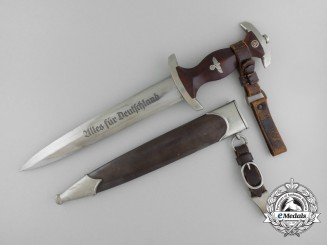 An Early & Desirable Hessen Region SA Dagger with Hanger by Tiger