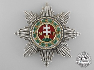 A Grand Cross Star of the Order of St.Stephan by Rothe, Vienna