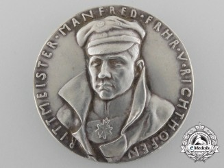 A German Imperial Baron von Richthofen Commemorative Medal