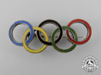 A XI Berlin Summer Olympic Games Pin 1936