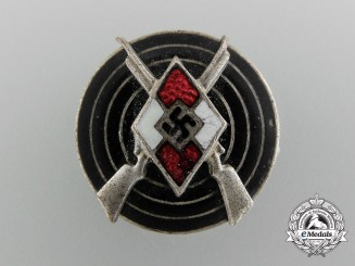 A HJ Shooting Badge by Gebrüder Jäger