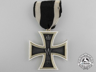 Germany, Empire. A Unique & Exquisite 1870 Iron Cross Second Class in Gold