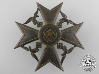 A Gold Grade Spanish Cross by Steinhauer und Lück